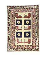 Eden Carpets Alfombra Shirvan Beige/Multicolor 157 x 110 cm