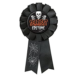 Amazon.com: Scariest Costume Halloween Award Ribbon: Kitchen & Dining