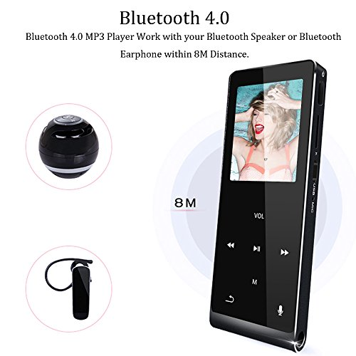 preisvergleich mp3 player klangtop 8g bluetooth mp3. Black Bedroom Furniture Sets. Home Design Ideas