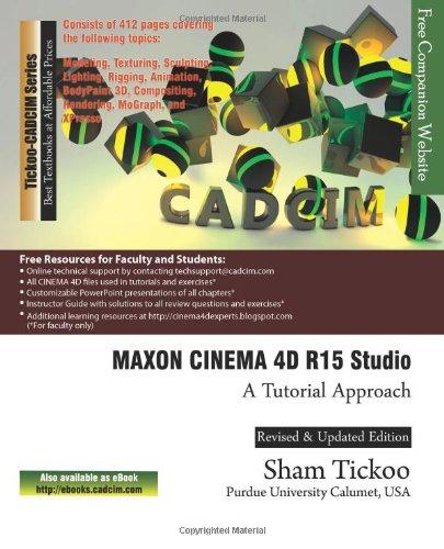 Maxon Cinema 4D R15 Studio: A Tutorial Approach
