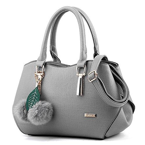 koson-man-womens-fashionable-noble-texture-pu-leather-villus-ornaments-shell-bags-handbags-shoulder-