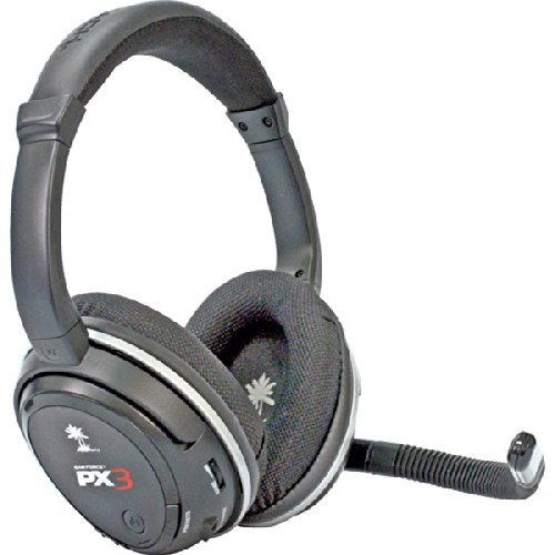 Ear Force Px3 Gaming Headset Wireless Stereo For Ps3 & Xbox360