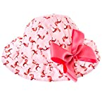 Flamingo Hat with Bow