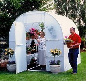 Solexx Gardener's Oasis Greenhouse 8' X 16' X 8' - 3.5mm