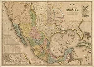 Unidos de Mejico : segun lo organizado y definido por las varias