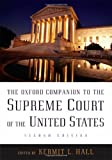 The Oxford Companion to the Supreme Court of the United States (0195176618) by Hall, Kermit L.