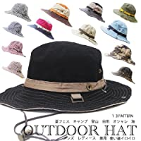 アウトドアハット アドベンチャー帽 サファリハット サハリハット 登山 UV 春夏帽子 メンズ帽子 レディースハット