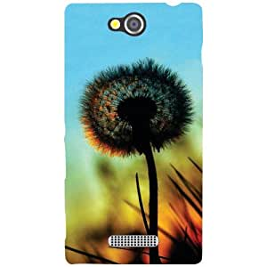 Sony Xperia C Back Cover - Glary Designer Cases