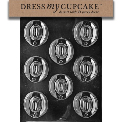 Dress My Cupcake Chocolate Candy Mold, Cowboy Hats (Hat Chocolate Mold compare prices)