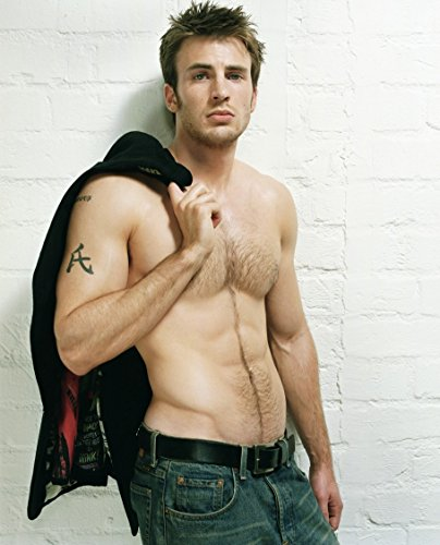 captain-america-chris-evans-no-shirt-modeling-mid-photo-8-inch-by-10-inch-photograph-tl
