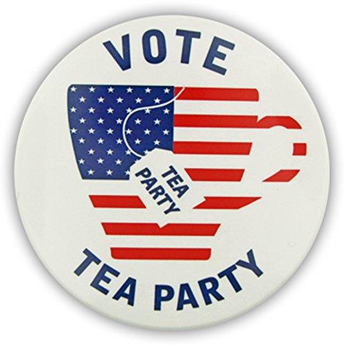 Vote Tea Party Button