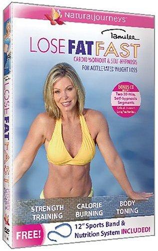Lose Fat Fast: Cardio Workout & Self Hypnosis [DVD] [Region 1] [US Import] [NTSC]