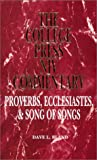 Proverbs, Ecclesiastes & Song of songs (College Press NIV Commentary)