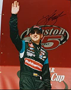 Kurt Busch Autographed 8x10 Photo by Hollywood Collectibles