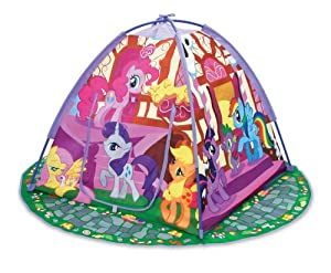 Amazon.com: My Little Pony Ponyville Play Tent: Toys & Games