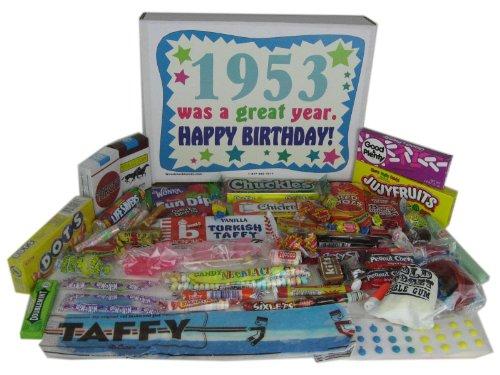 '50s Retro Candy Decade 60th Birthday Gift Box