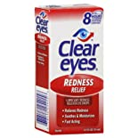 Clear Eyes Eye Drops, Redness Relief, .5 oz.