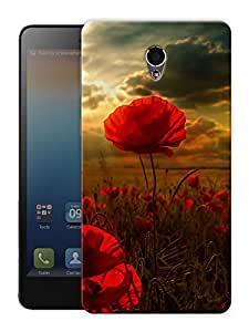 """Beautiful Flower Scenery Printed Designer Mobile Back Cover For """"Lenovo S860"""" By Humor Gang (3D, Matte Finish, Premium Quality, Protective Snap On Slim Hard Phone Case, Multi Color)"""