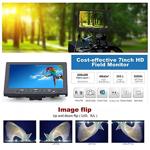 Bestview-7-Inch-IPS-Screen-Camera-Field-Monitor-VGAAVHDMI-Input-for-DSLR-Camera-Camcorder