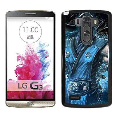 LG G3 Phone Case,Mortal Kombat Sub Zero Video Game Black LG G3 Screen Cover Case,Beautiful Case