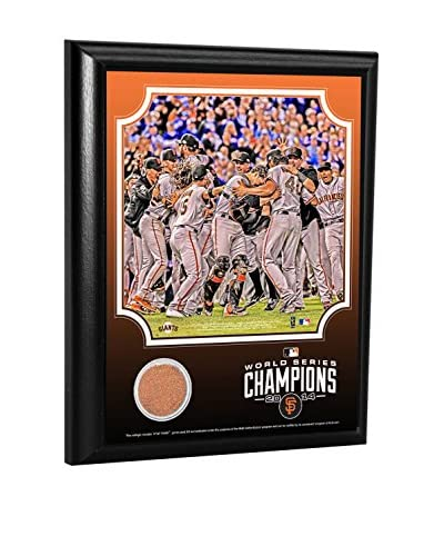 Steiner Sports Memorabilia San Francisco Giants 2014 World Series Celebration Dirt Plaque, 10 x 8
