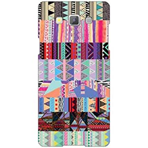 Printland Abstract Phone Cover For Samsung Galaxy A5 SM-A500GZKDINS/INU