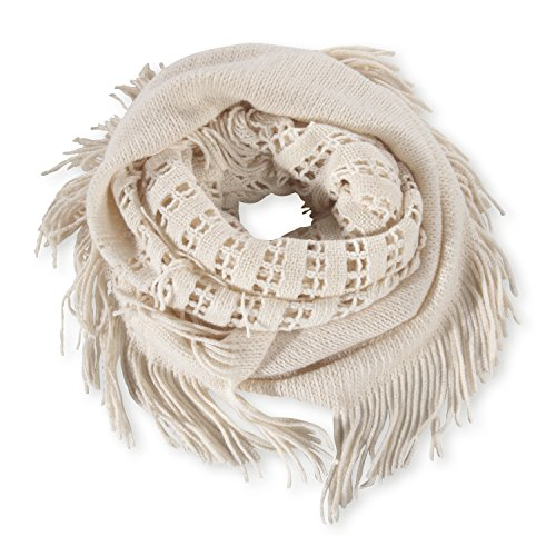 Pistil Designs Women'S Effie Infinity Scarf, Bone, One Size