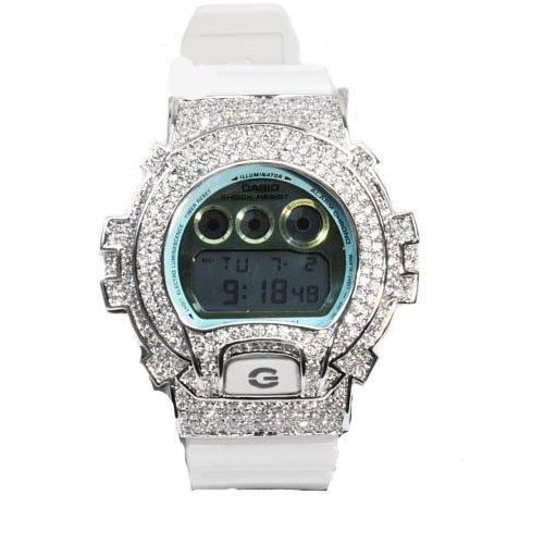 G-SHOCK (G shock) DW-6900PL-7JF diamond CZ custom model...