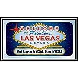 "Las Vegas ""What Happens In Vegas Stays In Vegas"" Framed Logo Mirror"