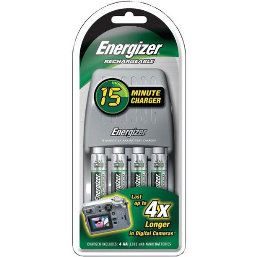 Green Energy Building Energizer Battery Charger 15 Minute