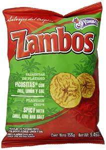 Amazon.com: Mama Lycha Zambos Plantain Chips with Chile