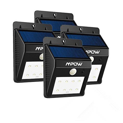 Comparamus 4 pack 8 led eclairage exterieur - Spot exterieur sans fil ...