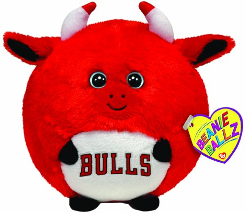 Ty Beanie Ballz Chicago Bulls - Nba Ballz back-845723