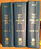 img - for Who Was Who in American Art : 1564-1975 (3-Volume Set) book / textbook / text book