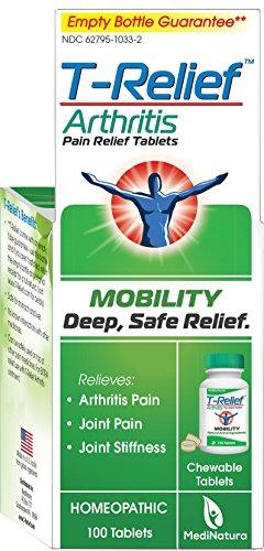 MediNatura T-Relief Arthritis Tablets, 100 Tablets
