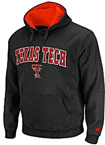 Texas Tech Red Raiders Embroidered Automatic College Hooded Sweatshirt by Colosseum by NCAA