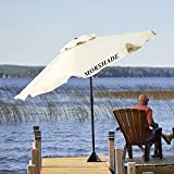 Morshade 9 ft. 360 Patio & Portable Shade Umbrella with Additional Base Stand Attachments
