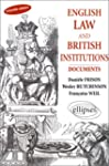 English Law and British Institutions