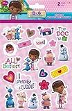 3-Piece Disney Jr. Doc McStuffins Night Light Gift Set for Kids - 3 Doc McStuffins Night Lights (3 Fun Designs) Plus 1 Pack of Doc McStuffins Stickers