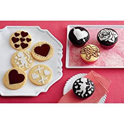 Martha Stewart Crafts Heart And Love Cupcake Stencil