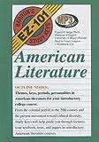 American Literature (Barron's EZ-101 Study Keys) (Library Edition) (Barron's Ez 101 Sudy Keys) (0786179589) by Skipp, Francis E.