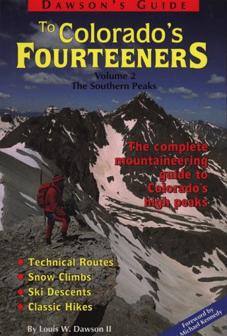 Image for Dawson's Guide to Colorado's Fourteeners, Volume 2, the Southern Peaks