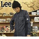 LEE ワークシャツ ブルーデニム M (LS2006100)