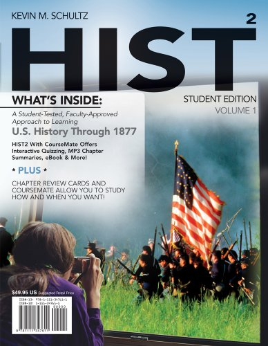 Hist: Volume 1 (With History Coursemate With Ebook Printed Access Card) front-1024875
