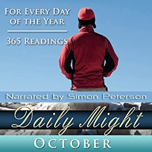 Daily Might: October: A Reading for Each Day in October | [Simon Peterson]