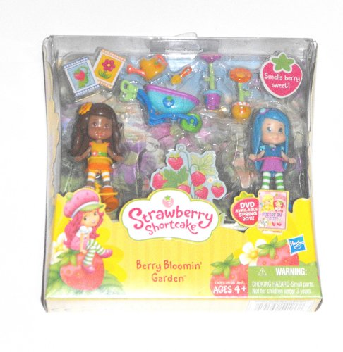 Strawberry Shortcake Mini Figure Two Pack Berry Bloomin Garden Blueberry Muffin Orange Blossom
