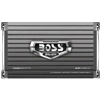 BOSS AR1200.2 Caisson de basses Gris
