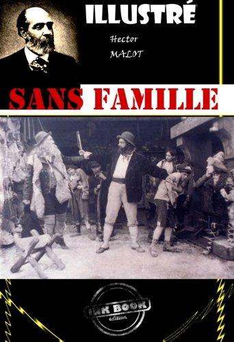 Couverture du livre Sans famille (avec illustrations)