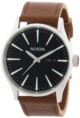 Nixon Herren-Armbanduhr Analog Leder A1051037-00