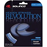 Solinco Revolution Tennis String Set-Blue-18, Set 18G (1.15mm)/Blue